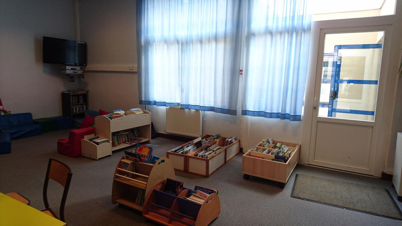 Bibliothèque - Espace lecture
